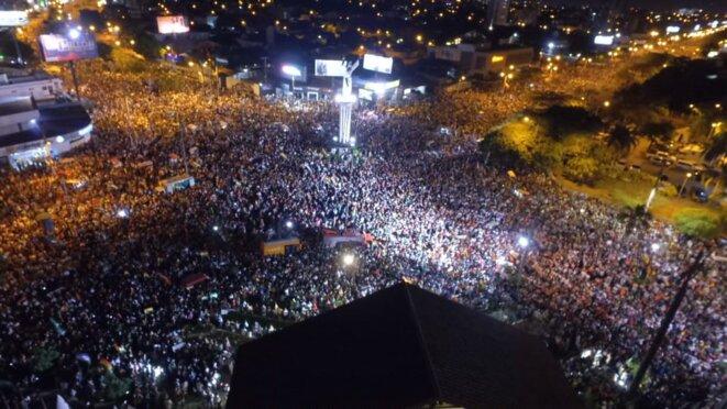Assemblée citoyenne (Cabildo) à Santa-Cruz, 4 novembre 2019