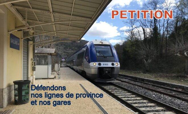 Protégeons nos lignes et nos trains © Pierre Reynaud
