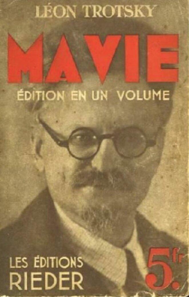 """L'édition de """"Ma Vie"""" en 1934 chez Rieder"""