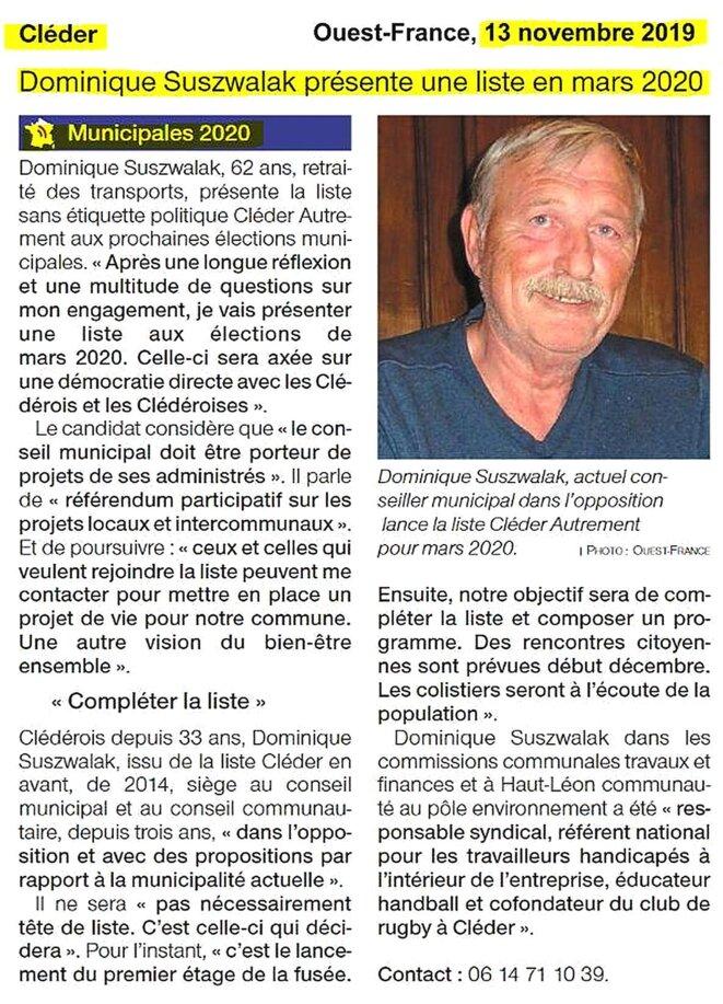 ouest-france-municipales-20191113-cleder