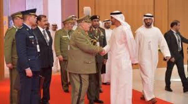 Israël et les Emirats Arabes Unis au secours du général Salah