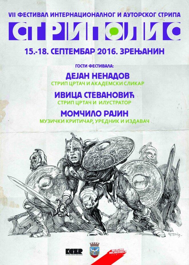 Affiche du festival 2016 - Branko Djukic - Collection privée