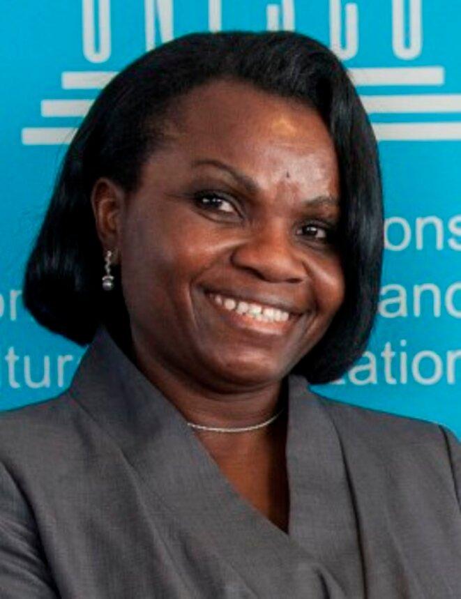 40ème session de la Conférence générale - S.Exc. Madame Rachel Annick OGOULA AKIKO Ep. OBIANG MEYO, Ambassadeur, Déléguée Permanente du Gabon auprès de l'UNESCO PRÉSIDENTE DU GROUPE AFRIQUE
