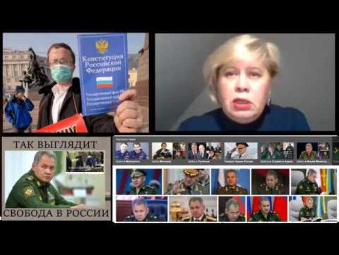 """Nadejda Petrova sur la chaîne """"Loi et ordre"""" © """"Loi et ordre"""""""