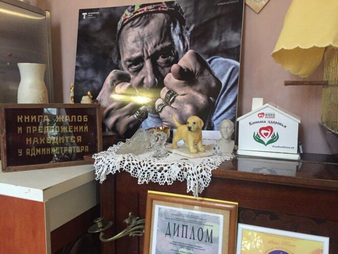 Détai ld'un des  foyers du nouveau théâtre de Nikolaï Kolyda © jpt