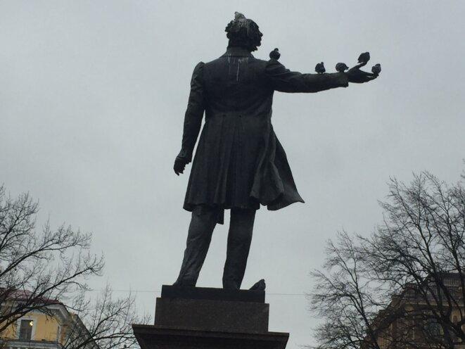 statue de Pouchkine © kpt