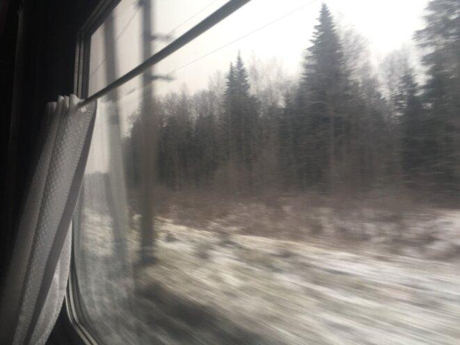 Entre Perm et Ekaterinbourg © jpt