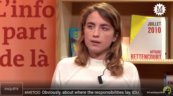 Adèle Haenel interviewed by Mediapart.