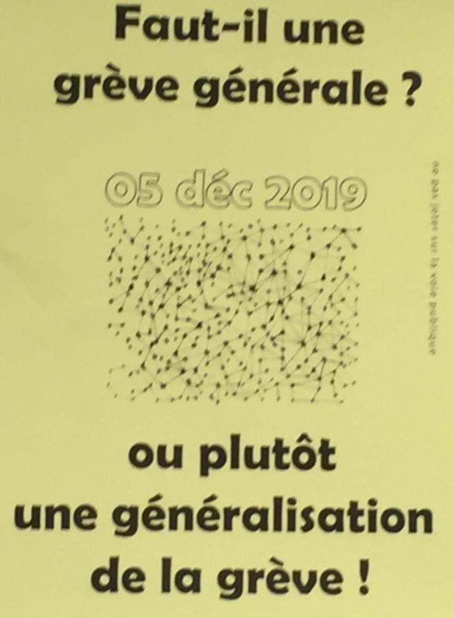 Faut-il une grève générale ? © ©AB