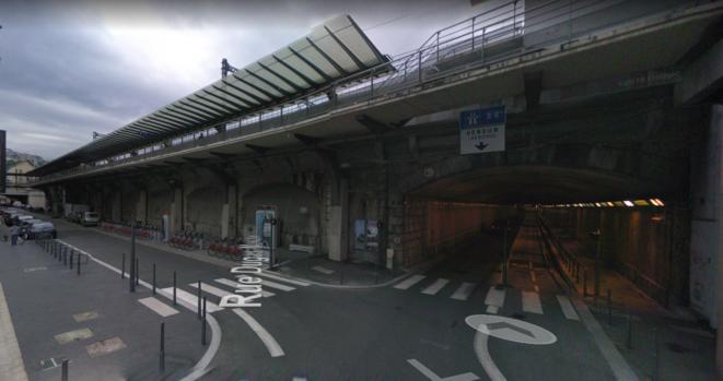 Gare de Lyon Perrache © Google