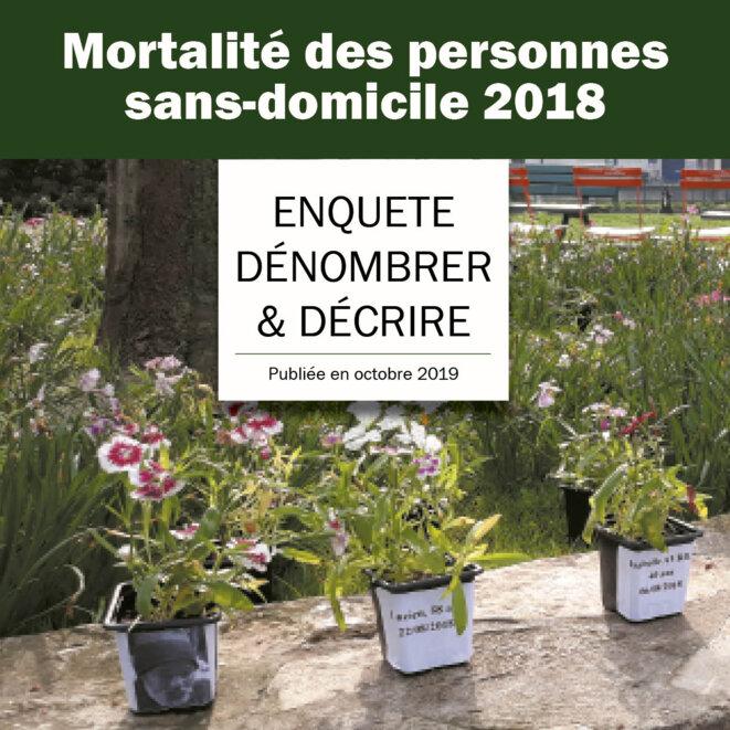 """raccourci vers le rapport """"Dénombrer et Décrire la mortalité des personnes SDF en 2018"""""""