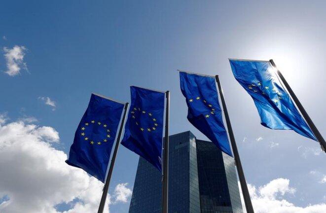Le siège de la Banque centrale européenne, à Francfort-sur-le-Main (Allemagne). © Reuters