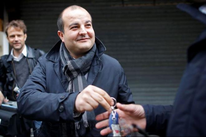 David Rachline, sénateur et maire (RN) de Fréjus. © Reuters