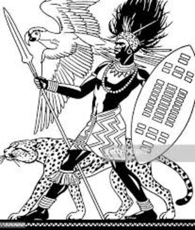guerrier-africain