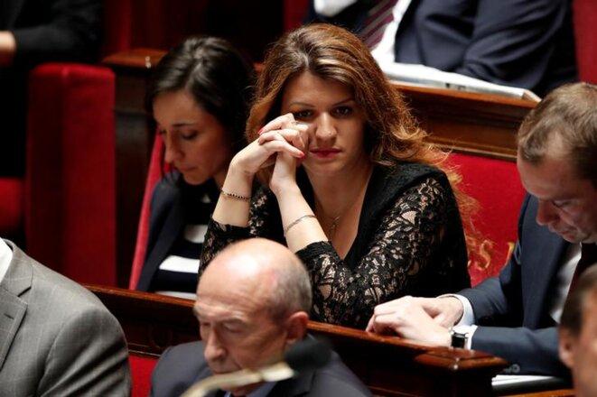 Marlène Schiappa à l'Assemblée nationale en juin 2018. © Reuters