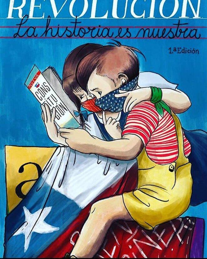 Silabario Nueva Constitucion Chile Desperto © Revista De Frente