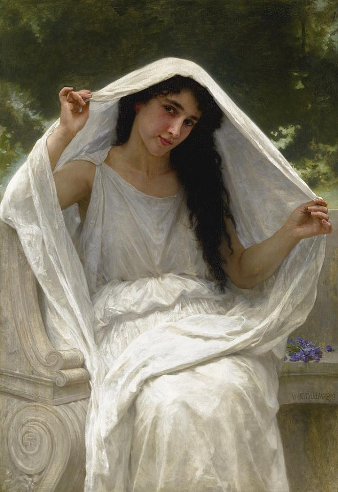 William Bouguereau, «Le voile» (1898) © Wikimedia Commons, domaine public
