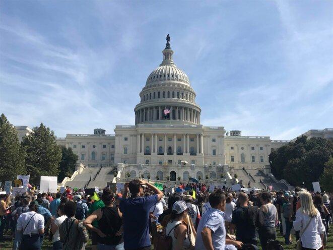 Marche pour le climat - Washington