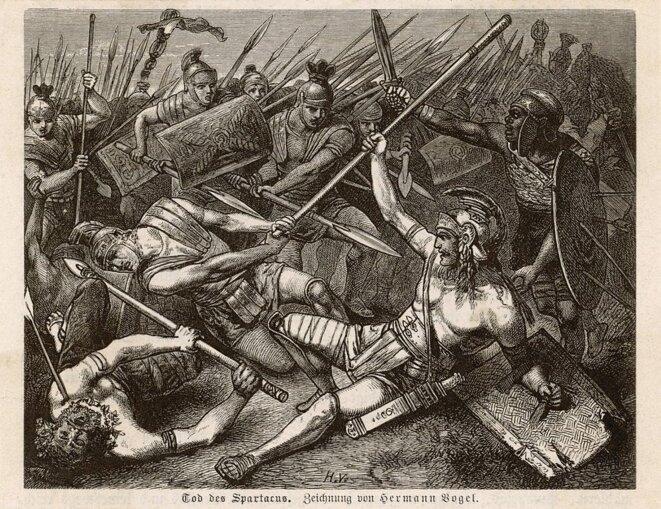 tod-des-spartacus-by-hermann-vogel 1888