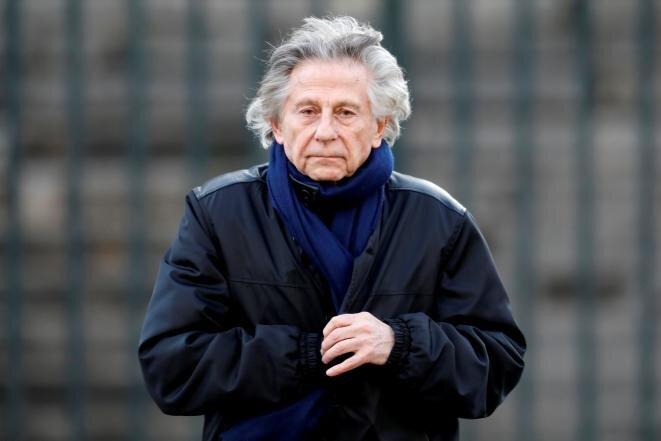 El director de cine Roman Polanski el 9 de diciembre de 2017, en París, en el homenaje dedicado a Johnny Hallyday. © Reuters