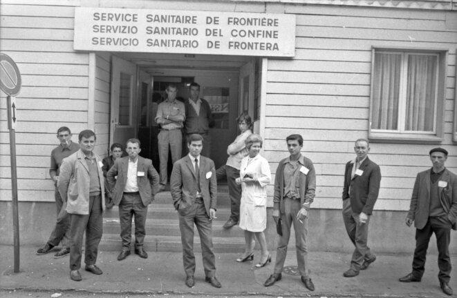 """CIG, 1969, Exposition """"Nous saisonniers, saisonnières... Genève. 1931 - 2019"""", Le Commun, Genève, 2019. © Desarzens"""