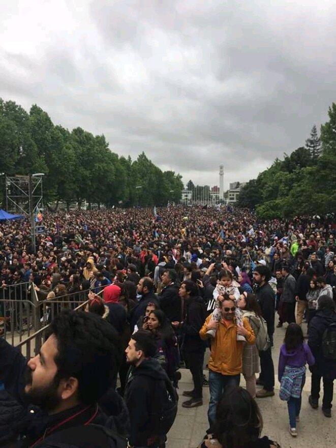 Manifestacion en Concepcion, Chile © anonyme