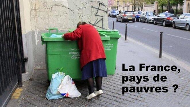 La France : toujours plus de pauvres, malgré les promesses de Macron © Pierre Reynaud