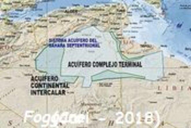 Nappes d'eau souterraine au Sahara