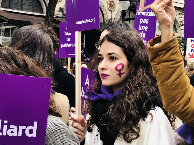 Manifestation du 23 novembre. © Ellen Salvi