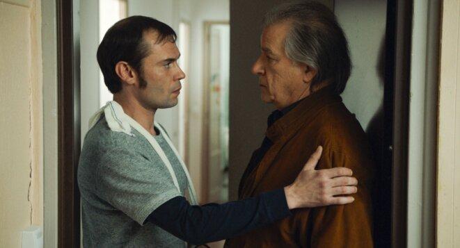 Une scène du film avec Robinson Stévenin et Gérard Meylan