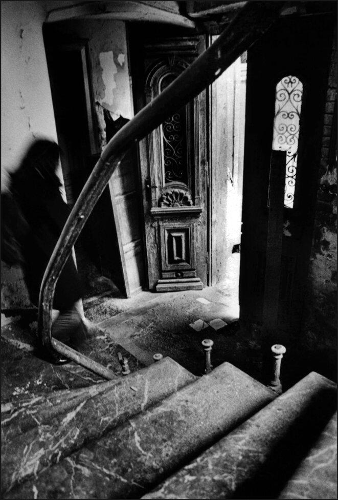 De la série Aménagements successifs du noir © Sladjana Stanković