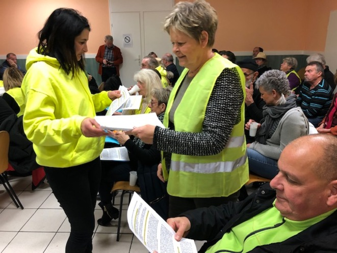 Yellow Vests meet in the Vosges to plan electoral strategy.