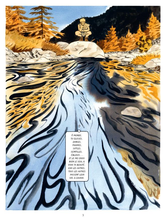 """""""Penss et les plis du monde"""", page 3"""