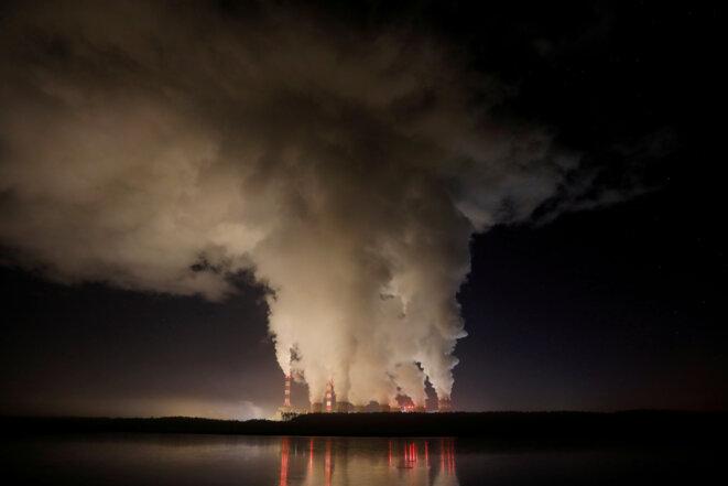 A Bełchatów, en Pologne, la plus grande centrale à charbon de l'Union européenne © Reuters