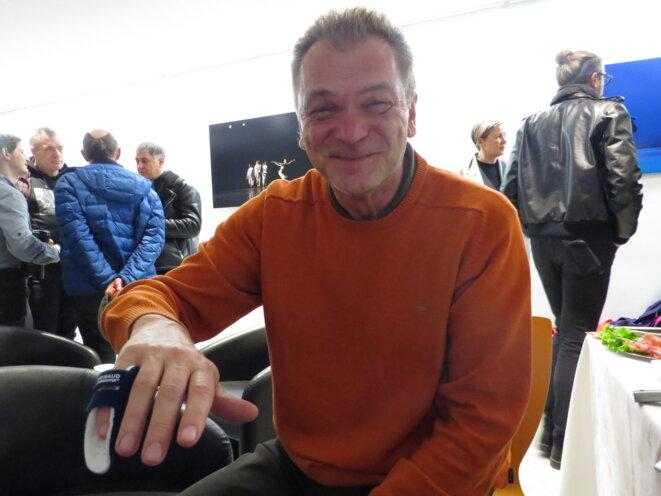 L'écrivain Goran Petrović © S.C.