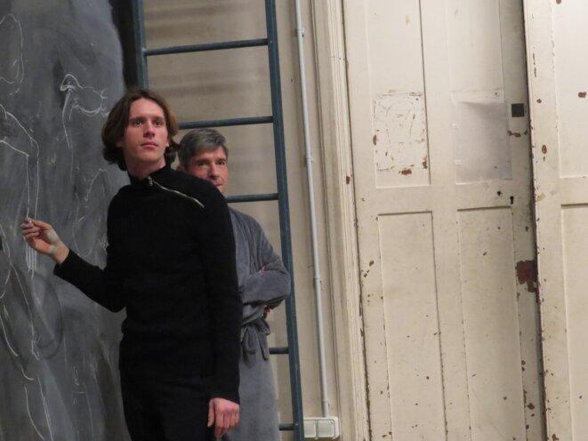 Dans les coulisses des Beaux-Arts de Paris avec Milena Bogovac © S.C.