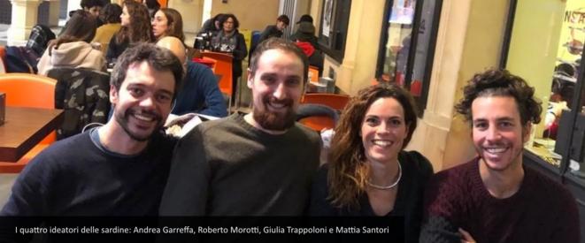 """""""La Repubblica"""", 2 décembre 2019. Capture d'écran"""