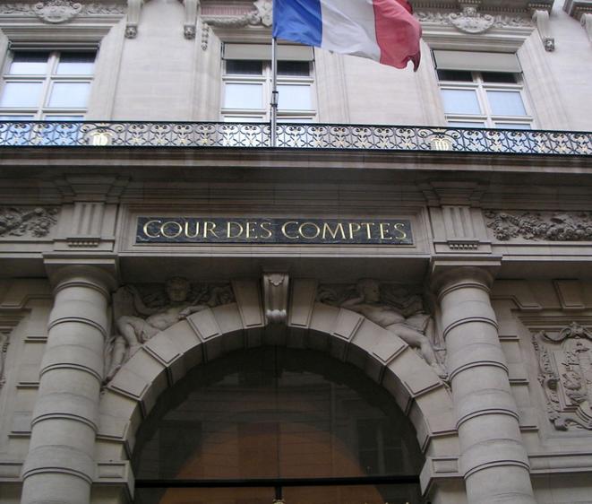 Le siège de la Cour des comptes, rue Cambon, à Paris.