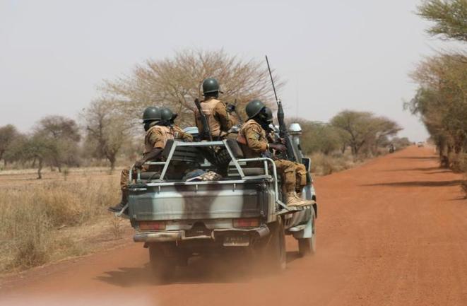 Des soldats du Burkina Faso, en mars 2019. © Reuters