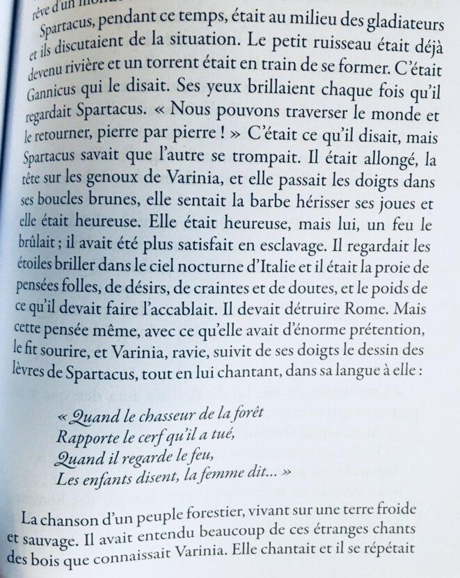 Chanson de Varinia