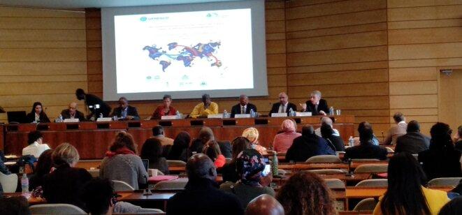 UNESCO -  25 novemebre 2019- Table ronde - Des mobilités licites vers une Culture de la Paix pour co-définir le développement