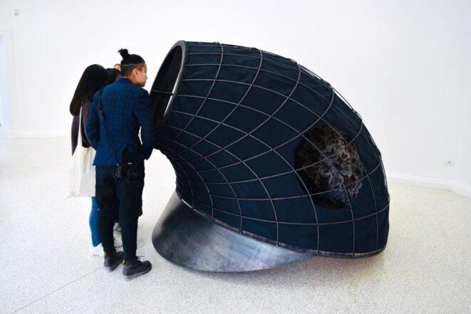 """Martin Puryear, """"Tabernacle"""", 2018, Pavillon américain, Biennale de Venise, 2019. © Ben Davis."""