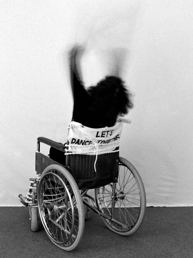 "Renate Bertlmann, ""Discordo Erga Sum"", Pavillon autrichien, Biennale de Venise 2019. © Renate Bertlmann"