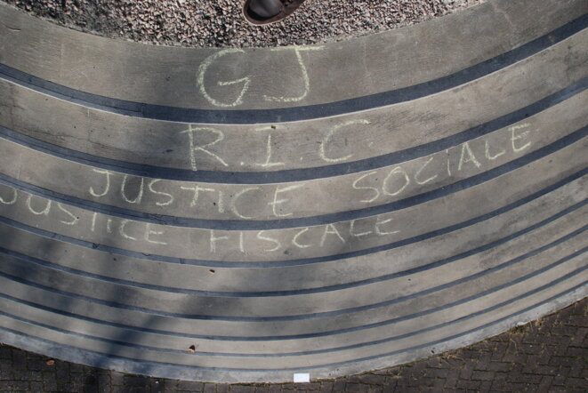 GJ-RIC justice sociale, justice fiscale © ©AH