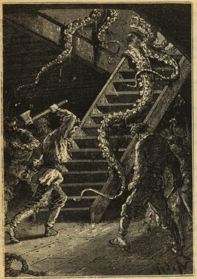 Vingt mille lieues sous les mers, d'après Jules Verne