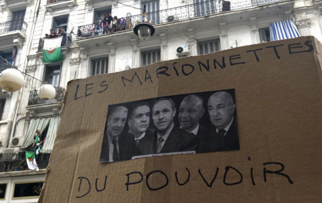 8 novembre 2019, Alger, 38e vendredi consécutif de manifestation contre le régime © Kahina Nour