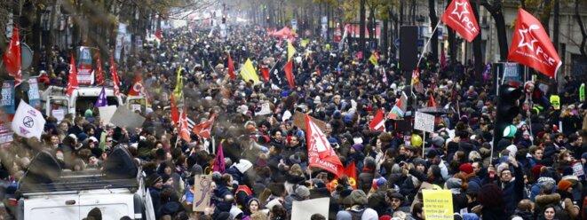Manifestation du 5 décembre © Pierre Reynaud