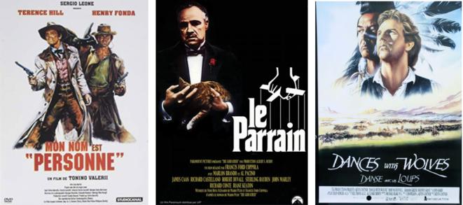 Affiches de films réalisées par Renato Casaro.