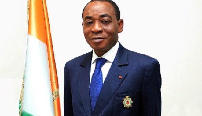 Le regretté ministre Charles Koffi DIBY, décédé le 7 décembre 2019 à Abidjan, en Côte d'Ivoire