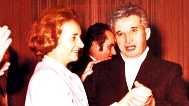 Elena et Nicolae Ceaucescu